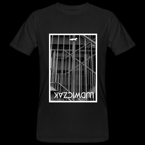 WIRED TEE BLACK - Männer Bio-T-Shirt
