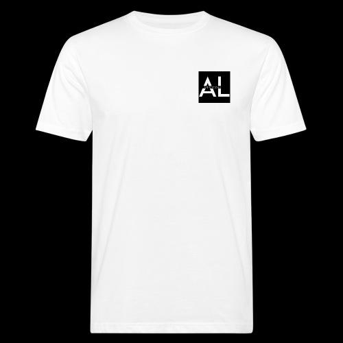 AL TEE WHITE - Männer Bio-T-Shirt