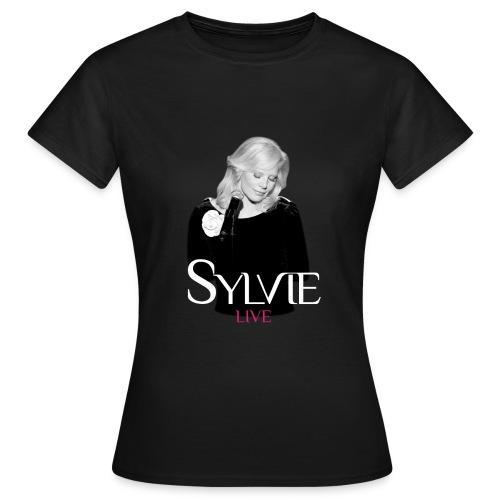T-shirt Femme Classique Sylvie Live - T-shirt Femme