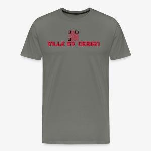 Ville 5v Design t-paita - Miesten premium t-paita