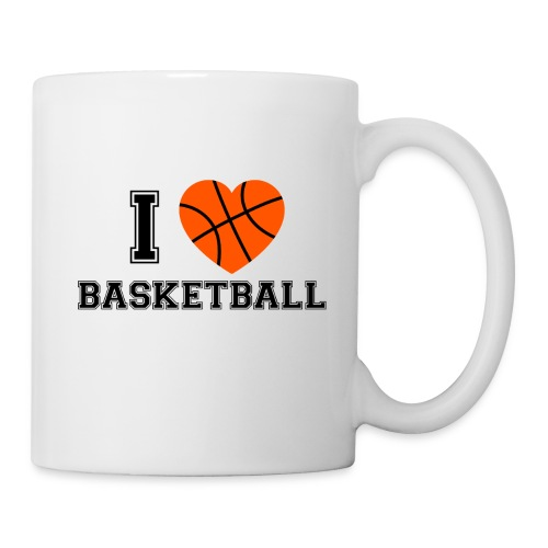 I LOVE BASKETBALL - Tasse