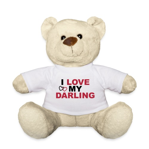 I love my Darling, Happy Valentine, Valentinstag - Teddy