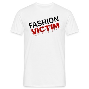 t-shirt fashion victim - T-shirt Homme