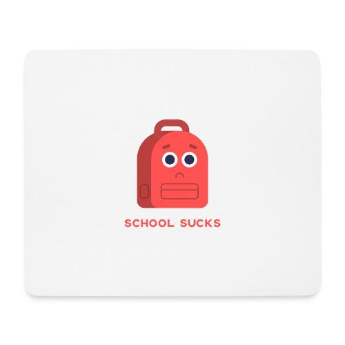 School Sucks Mouse mat - Muismatje (landscape)