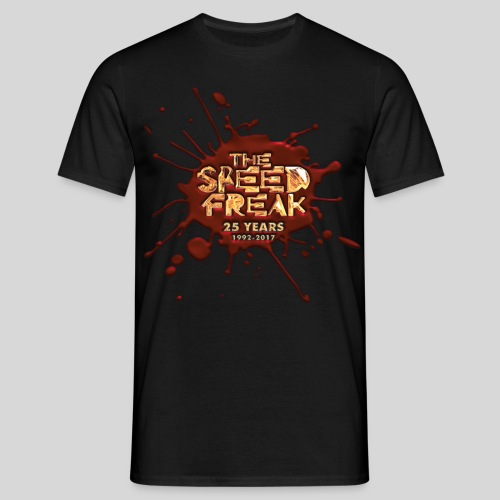 The SpeedFreak 25years BLOOD T-Shirt - Men's T-Shirt