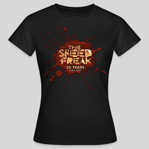 The SpeedFreak 25years BLOOD girl-shirt - Women's T-Shirt