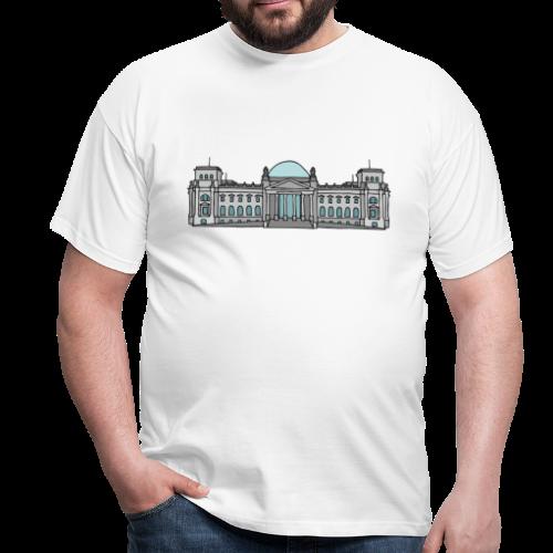 Reichstagsgebäude BERLIN - Männer T-Shirt