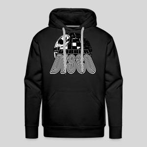 Gabberdisco b/w Hoodie - Men's Premium Hoodie