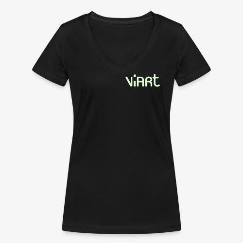 ViArt_V-T-shirt_f - Frauen Bio-T-Shirt mit V-Ausschnitt von Stanley & Stella