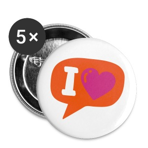 KISS - Badge moyen 32 mm