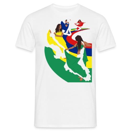 Mens  Dance - White - Men's T-Shirt