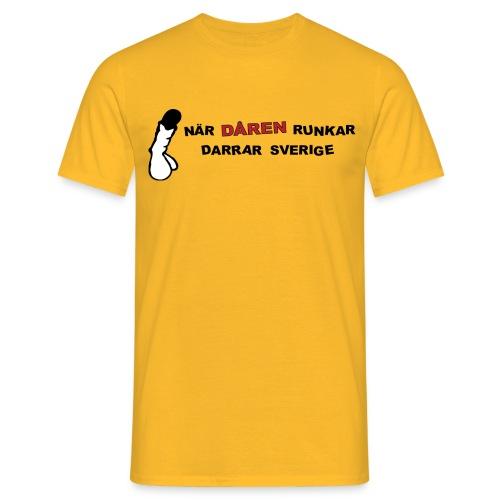 När dåren runkar - Herr - T-shirt herr