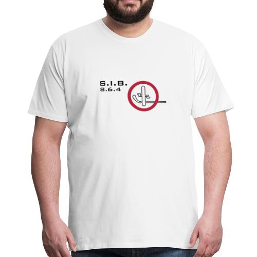 Stick In Bike rule - Men's Premium T-Shirt
