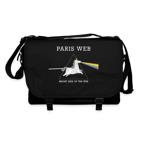 The bright side of the web - Sac à bandoulière - Sac à bandoulière