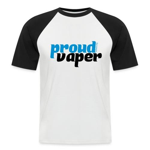 T-shirt homme proud vaper - T-shirt baseball manches courtes Homme