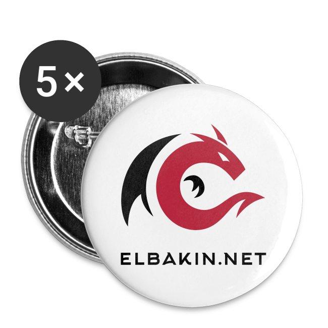 Lot 5 badges 32 mm