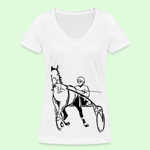 Le Trotteur - T-shirt bio col V Stanley & Stella Femme