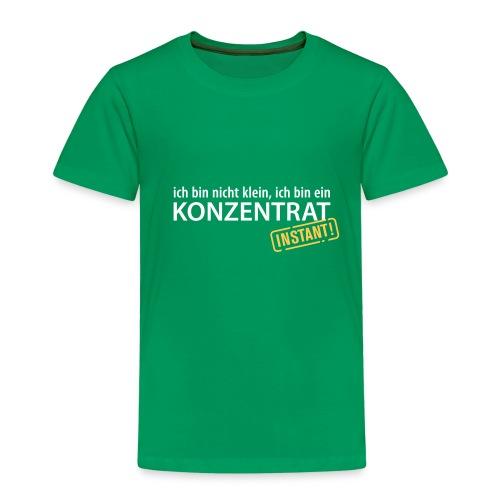 Ich bin nicht klein, ich bin ein Konzentrat Größe - Kinder Premium T-Shirt