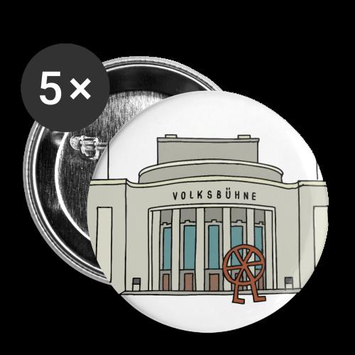 Volksbühne Berlin c - Buttons mittel 32 mm