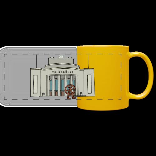Volksbühne Berlin c - Panoramatasse farbig