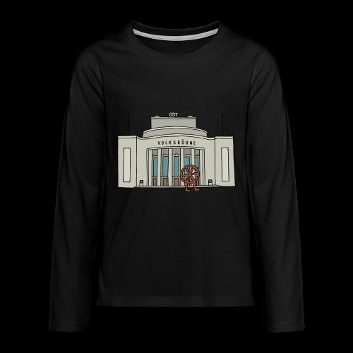 Volksbühne Berlin c - Teenager Premium Langarmshirt
