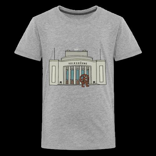 Volksbühne Berlin c - Teenager Premium T-Shirt