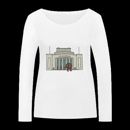 Volksbühne Berlin c - Frauen Bio-Langarmshirt von Stanley & Stella