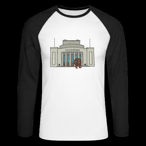 Volksbühne Berlin c - Männer Baseballshirt langarm