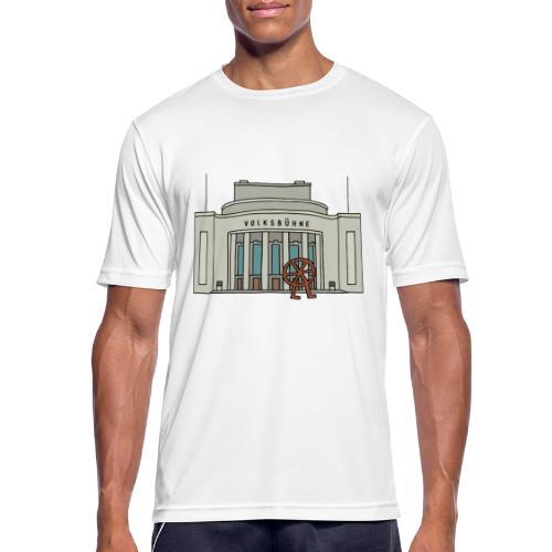 Volksbühne Berlin c - Männer T-Shirt atmungsaktiv