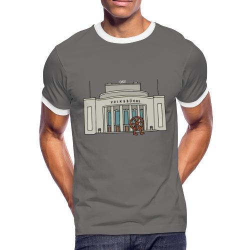 Volksbühne Berlin c - Männer Kontrast-T-Shirt