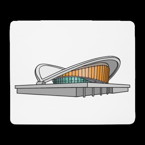 Kongresshalle Schwangere Auster Berlin - Mousepad (Querformat)