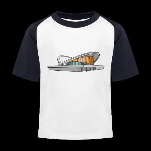 Kongresshalle Schwangere Auster Berlin - Kinder Baseball T-Shirt