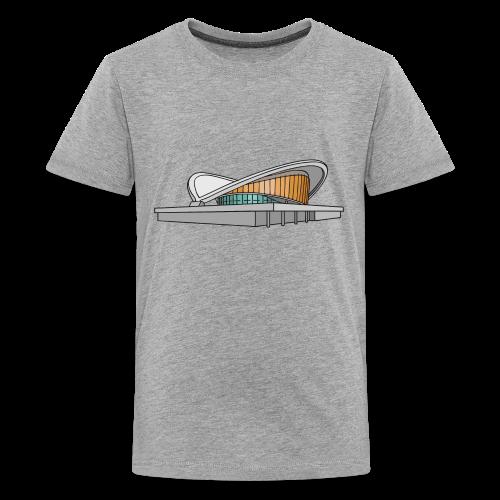 Kongresshalle Schwangere Auster Berlin - Teenager Premium T-Shirt