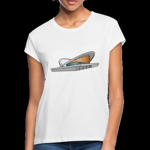 Kongresshalle Schwangere Auster Berlin - Frauen Oversize T-Shirt
