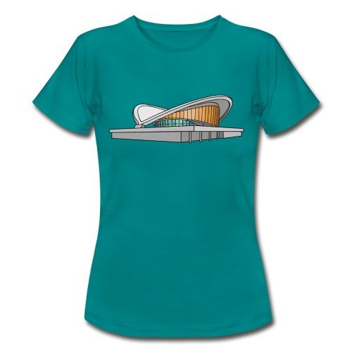 Kongresshalle Schwangere Auster Berlin - Frauen T-Shirt
