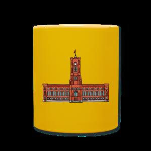 Rotes Rathaus BERLIN - Tasse einfarbig