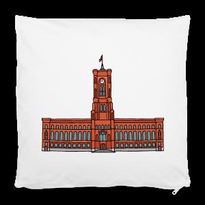 Rotes Rathaus BERLIN - Kissenbezug 40 x 40 cm
