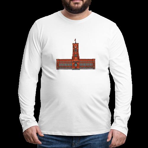 Rotes Rathaus BERLIN - Männer Premium Langarmshirt