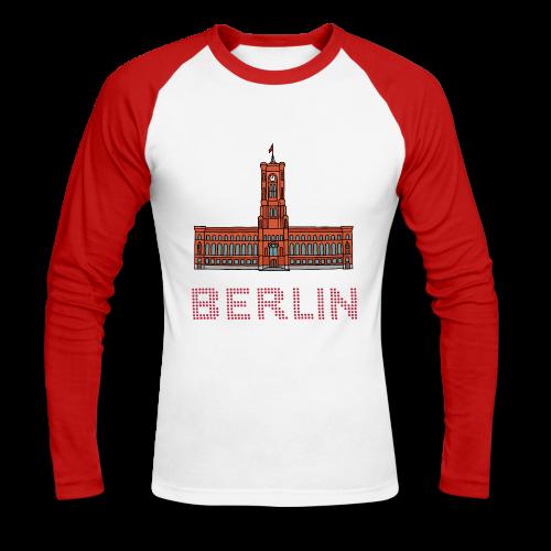 Rotes Rathaus BERLIN - Männer Baseballshirt langarm