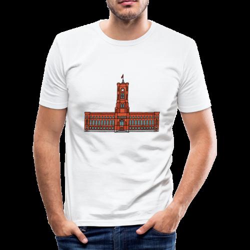 Rotes Rathaus BERLIN - Männer Slim Fit T-Shirt