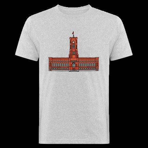 Rotes Rathaus BERLIN - Männer Bio-T-Shirt
