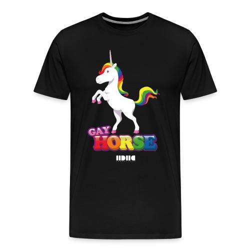 Unicorns are so gay - Premium-T-shirt herr