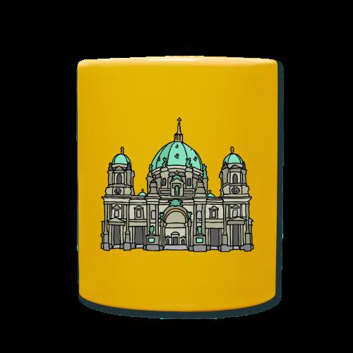 Berliner Dom  - Tasse einfarbig
