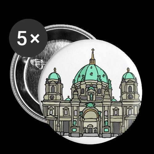 Berliner Dom  - Buttons groß 56 mm