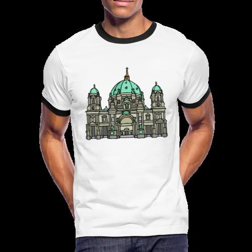 Berliner Dom  - Männer Kontrast-T-Shirt