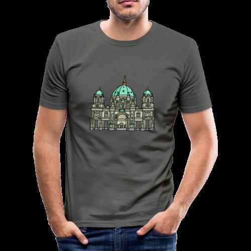 Berliner Dom  - Männer Slim Fit T-Shirt