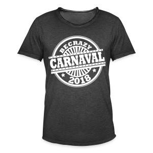 BECRAZY 2018 - Mannen Vintage T-shirt