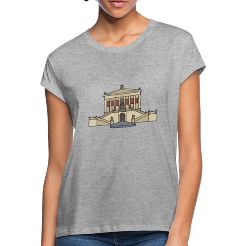 Alte Nationalgalerie BERLIN - Frauen Oversize T-Shirt