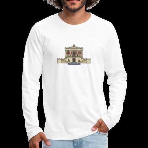 Alte Nationalgalerie BERLIN - Männer Premium Langarmshirt