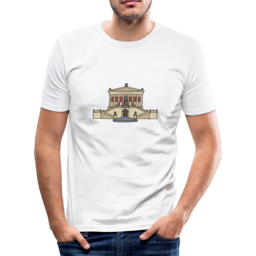Alte Nationalgalerie BERLIN - Männer Slim Fit T-Shirt